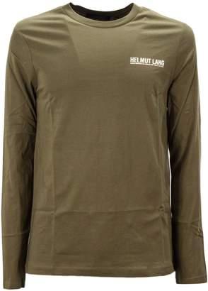 Helmut Lang Military Green Cotton T-shirt
