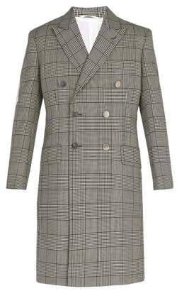Calvin Klein Wall Street Wool Blend Coat - Mens - Brown
