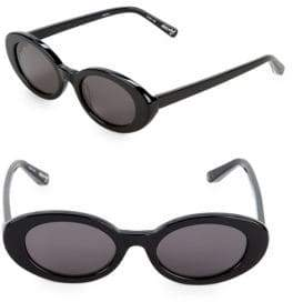 Elizabeth and James Oval 51MM Round Sunglasses