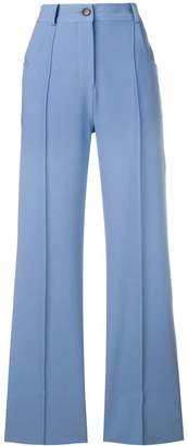 Roberto Collina bootcut trousers