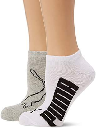 Puma Women's Lifestyle Sports Socks, pack of 2,(Manufacturer Size: )