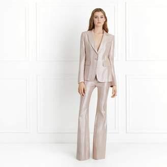 Rachel Zoe Debra Metallic Suiting Blazer