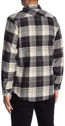 Burnside Long Sleeves Flannel Shirts