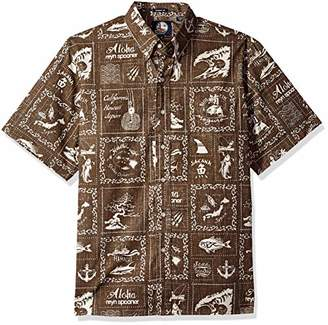 Reyn Spooner Men's Stories from The East Spooner Kloth Classic Hawaiian Shirt