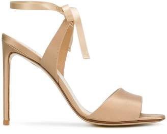 Francesco Russo wrapped ankle sandals