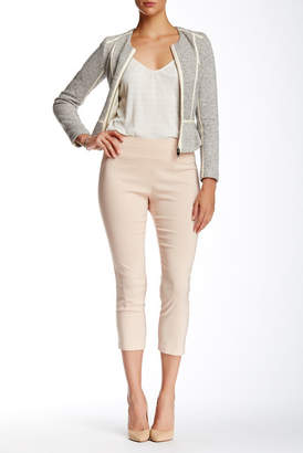 Insight Solid Techno Pull On Cropped Pant $108 thestylecure.com
