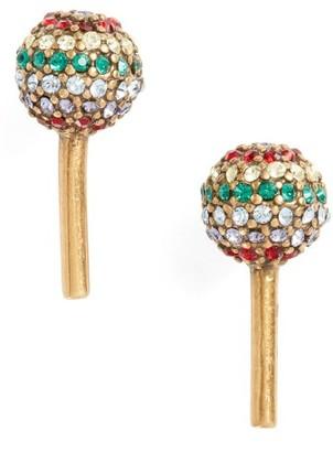 Women's Marc Jacobs Lollipop Stud Earrings $60 thestylecure.com