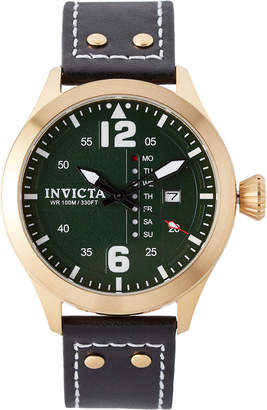 Invicta 22185 Gold-Tone & Black I-Force Watch