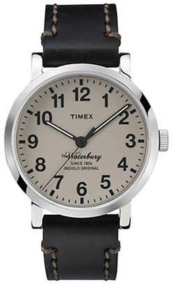 Timex Mens Originals Modern Round strap TW2P58800AW