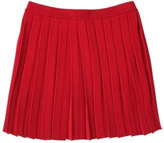 Emporio Armani Pleated Viscose Skirt