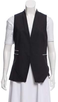 Brunello Cucinelli Wool Manili Trim Vest