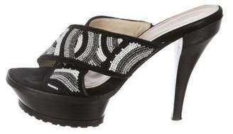 Donald J Pliner Platform High Heel Sandals