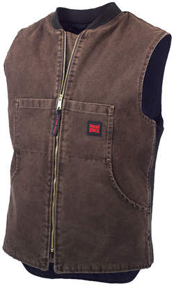 JCPenney Tough Duck Quilted Workwear Vest