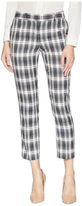 Tahari ASL Ankle Length Plaid Pants Women's Casual Pants