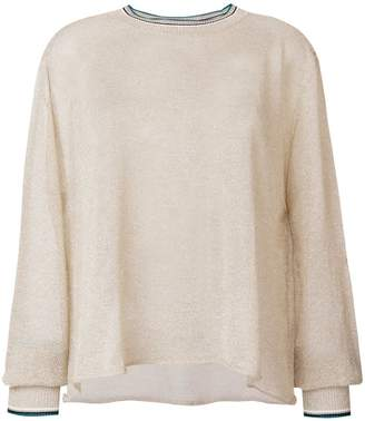 Forte Forte metallic thread sweater