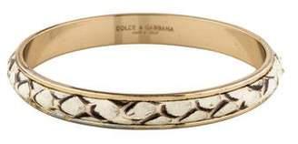 Dolce & Gabbana Snakeskin Bangle