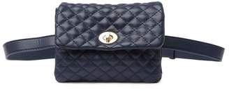 Mali & Lili Liv Quilted Vegan Leather Convertible Belt Bag