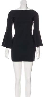 Chiara Boni Long Sleeve Mini Dress
