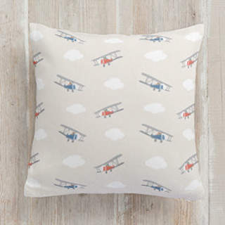 Cloudy Skies Square Pillow