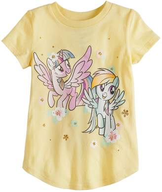 My Little Pony Toddler Girl Jumping Beans Twilight Sparkle & Rainbow Dash Graphic Tee