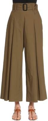 Etro Cotton Poplin Cropped Pants