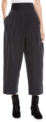 Marc Jacobs High-Waist Wide-Leg Cropped Pants