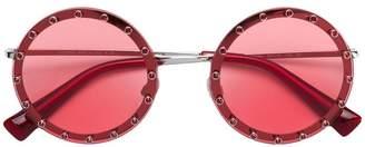 Valentino Eyewear Garavani round sunglasses