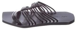 Rick Owens Leather Multistrap Sandals