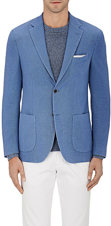 Barneys New York Barneys New York Men's Wool-Blend Two-Button Sportcoat