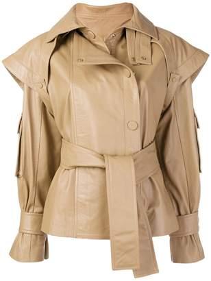 Zimmermann Tempest leather jacket