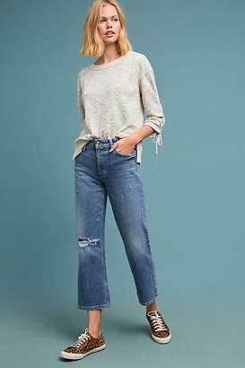 Joe's Jeans The Wyatt High-Rise Cropped Straight Jeans