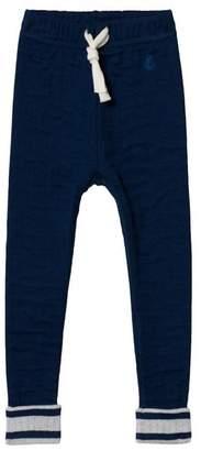 Petit Bateau Blue Knit Pants