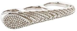As 29 AS29 Diamond Spine Ring