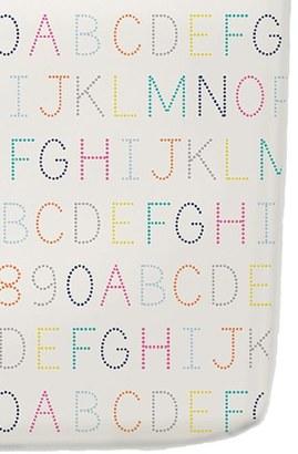 Petit Pehr 'Alphabet' Crib Sheet $36 thestylecure.com