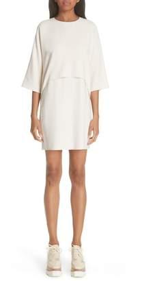 Stella McCartney Fringe Back Drape Dress