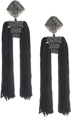 Sachin + Babi Dupio Tassel Drop Earrings