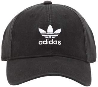 adidas Adicolor Washed Cotton Baseball Hat