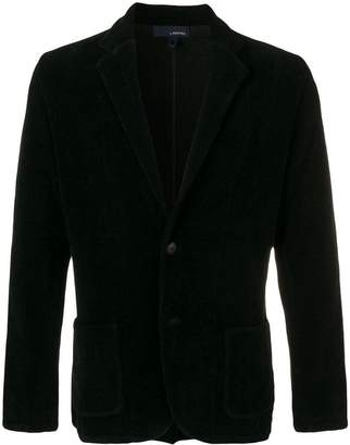 Lardini patch pocket blazer