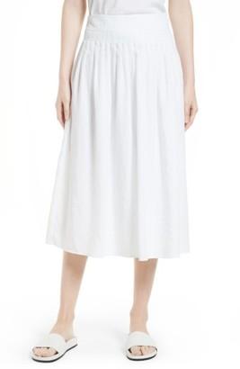 Women's Vince Pleated Wrap Skirt $295 thestylecure.com