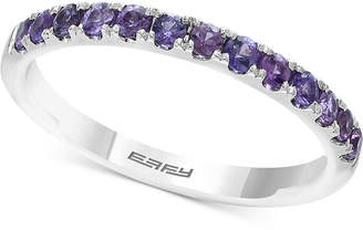 Effy Green Sapphire Band (5/8 ct. t.w.) in 14k Gold (Also Available In Purple Sapphire & Yellow Sapphire)