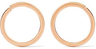 Saskia Diez X Wire Gold-plated Earrings