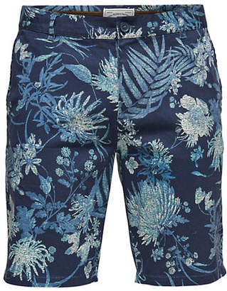ONLY & SONS Printed Twill Shorts