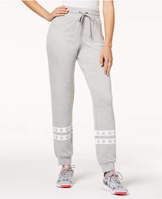 Material Girl Juniors' Printed Jogger Pants