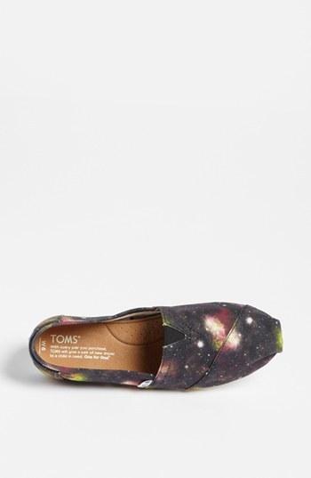 Toms 'Classic - Black Nebula' Slip-On (Women) (Exclusive Color)