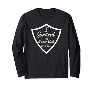 Church's I Survived the 3 Hour Block LDS Meeting Shirt