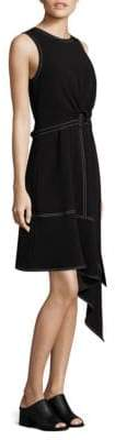 Derek Lam 10 Crosby Roundneck Shift Dress