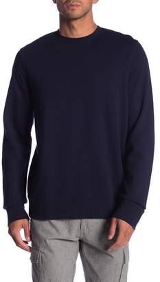 Frame Elbow Patch Crew Neck Sweatshirt