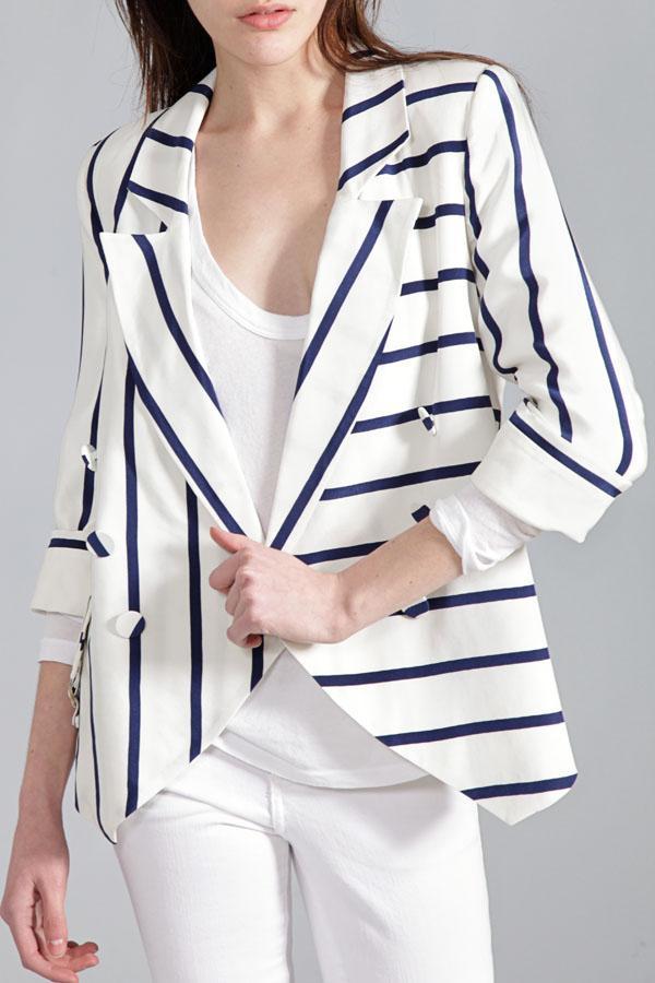 Madison Marcus Infinite Stripe Blazer