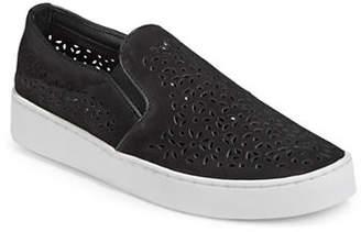 Vionic Midi Perf Slip-On Platform Sneakers