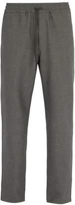 Barena VENEZIA Drawstring-waist stretch-weave trousers
